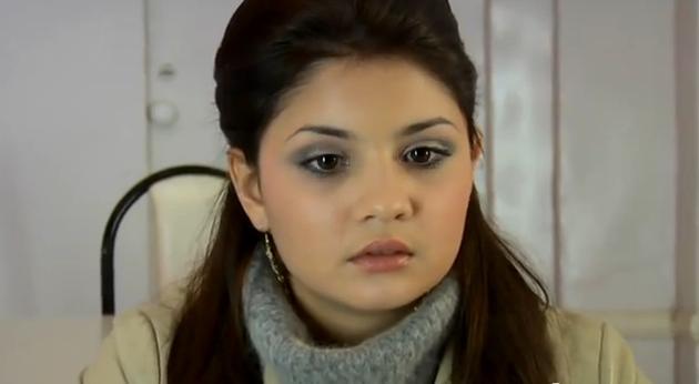 Озбекстанская кино актриса диана, жена сосет у пацана